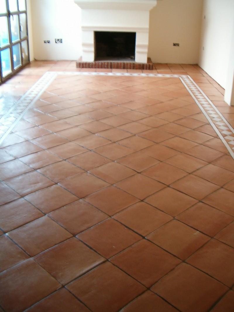 Ceramica rustica para suelos interesting sala amplia on ceramico gris rustico with ceramica - Ceramica rustica para suelos ...