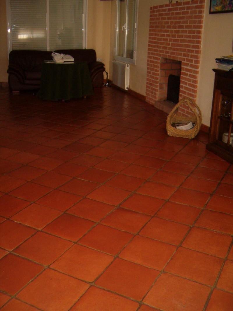 Ceramica rustica para suelos simple es imposible dejarlo limpio cuando lo limpio al secarse se - Ceramica rustica para suelos ...