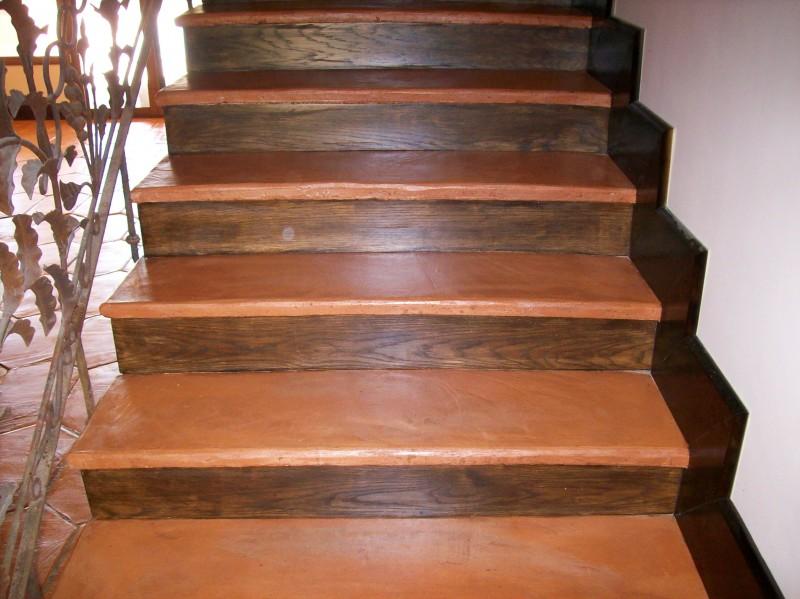 escaleras de ceramica rustica materiales de construcci n